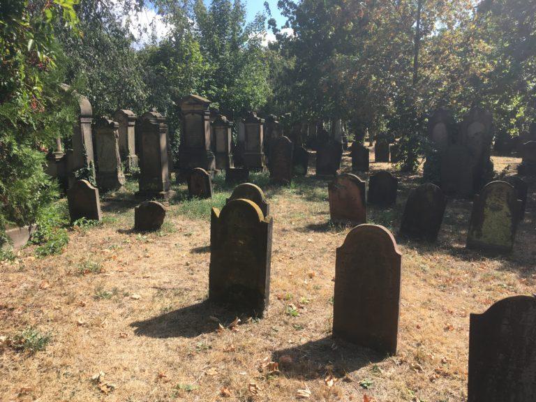 Heiliger Sand, Jüdischer Friedhof