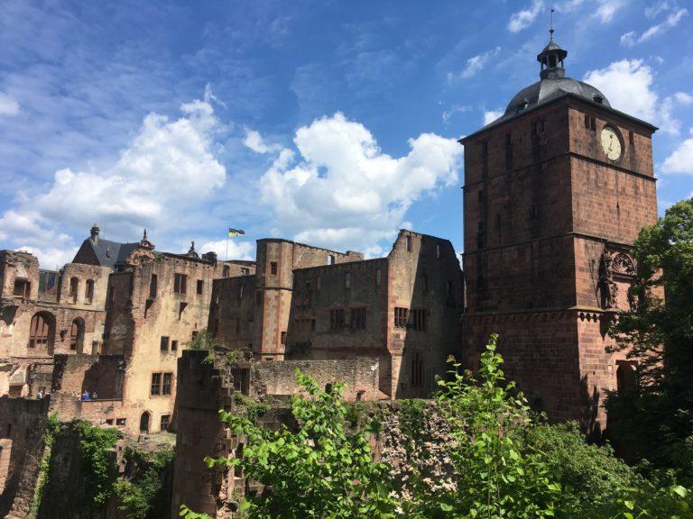 Schloss Heidleberg Torturm Ruprechtsbau